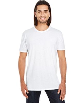130A Threadfast Apparel Unisex Pigment Dye Short-Sleeve Tee WHITE