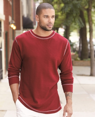 J America 8238 Vintage Long Sleeve Thermal T-Shirt