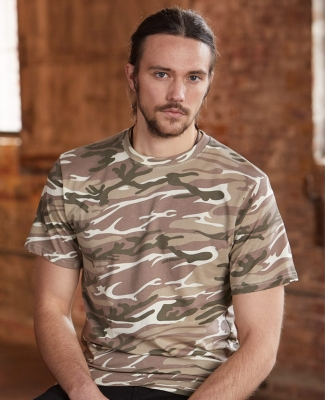 939 Anvil Ring Spun Camouflage Tee Catalog