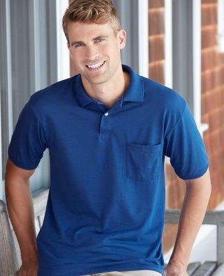 0504 Stedman by Hanes® Blended Jersey with Pocket Catalog