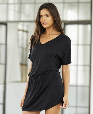 8812 Bella + Canvas Ladies' Flowy V-Neck Dress Catalog