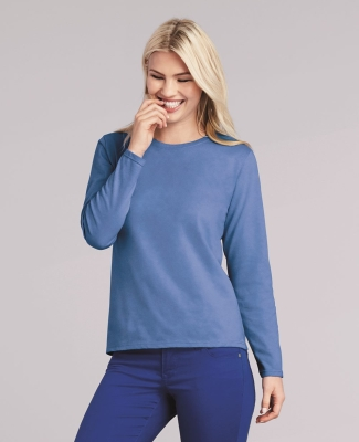 5400L Gildan Missy Fit Heavy Cotton Fit Long-Sleeve T-Shirt