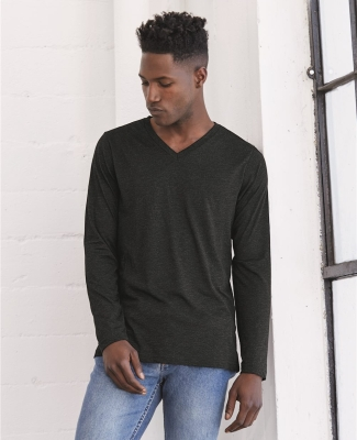 BELLA+CANVAS 3425 Mens Tri-Blend Long Sleeve V-Neck T-shirt Catalog