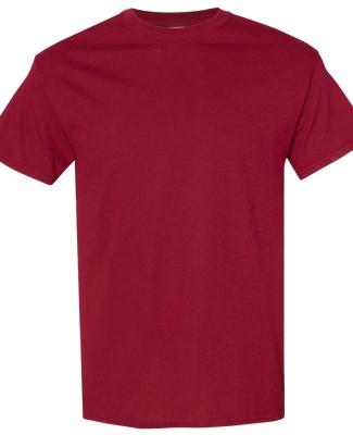 Gildan 5000 G500 Heavy Weight Cotton T-Shirt GARNET