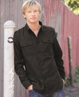 B8200 Burnside - Solid Long Sleeve Flannel Shirt