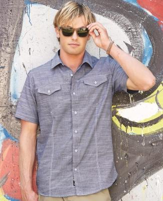 B9247 Burnside - Textured Solid Short Sleeve Shirt