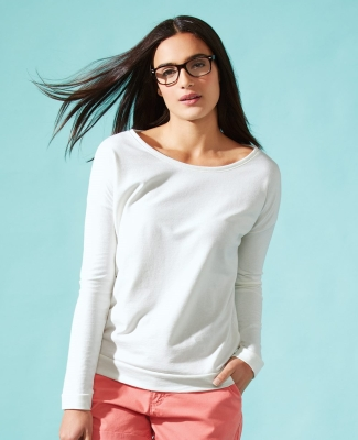 Next Level 6931 Ladies' Terry Long Sleeve Scoopneck T-Shirt Catalog