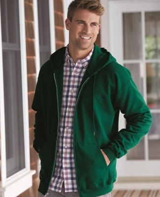 F280 Hanes® PrintPro®XP™ Ultimate Cotton® Full Zip Hooded Sweatshirt Catalog