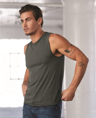 BELLA+CANVAS 3483 Mens Jersey Muscle Tank Catalog