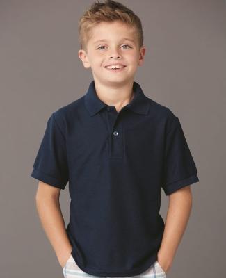 Jerzees 537YR Easy Care Youth Pique Sport Shirt