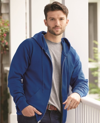 P180 Hanes® PrintPro®XP™ Full Zip Hooded Sweatshirt - P180 Catalog
