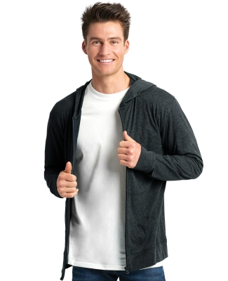 Next Level 6491 Sueded Lightweight Zip Up Hoodie Catalog