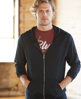Anvil 6759 Triblend Hooded Full-Zip T-Shirt Catalog