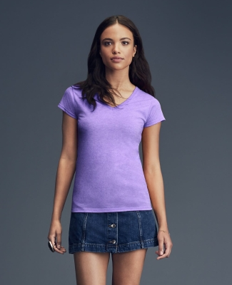 49 380VL Women's Lightweight Fitted V-Neck Tee Catalog