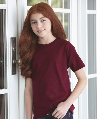 5450 Hanes® Authentic Tagless Youth T-shirt Catalog
