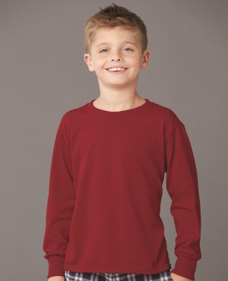 29BL Jerzees Youth Long-Sleeve Heavyweight 50/50 Blend T-Shirt