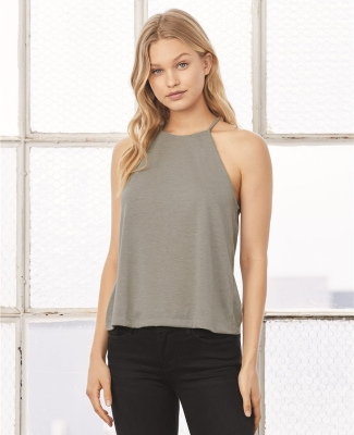 500 8809 Women's Flowy High Neck Tank Catalog