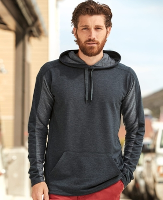 197 8435 Omega Stretch Terry Hooded Pullover