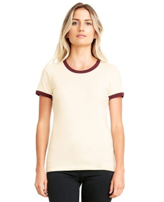 Next Level Apparel 3904 Ladies' Ringer T-Shirt Catalog