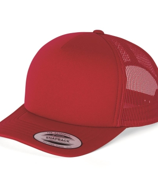 Yupoong-Flex Fit 6320 Foam Trucker Cap with Curved Visor