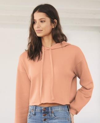 Bella + Canvas 7502 Women's Cropped Fleece Hoodie Catalog
