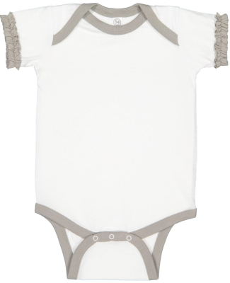 Rabbit Skins 4429 Infant Ruffle Fine Jersey Bodysuit Catalog