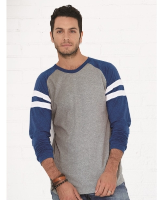 LA T 6934 Men's Gameday Mash Up Long-Sleeve T-Shirt Catalog