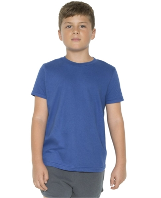 2201 American Apparel Unisex Youth Fine Jersey S/S Tee Catalog