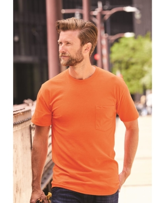 Hanes W110 Workwear Short Sleeve Pocket T-Shirt Catalog
