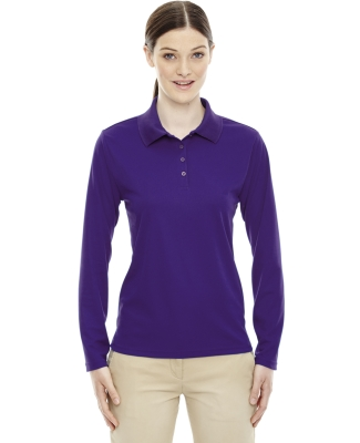 78192 Core 365 Pinnacle Ladies' Performance Long Sleeve Piqué Polo