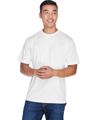 8400 UltraClub® Men's Cool & Dry Sport Mesh Performance Tee WHITE