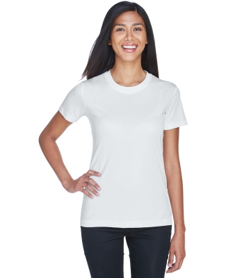 UltraClub 8620L Ladies' Cool & Dry Basic Performance Tee WHITE