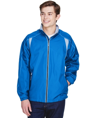 North End 88155 Men's Endurance Lightweight Colorblock Jacket NAUTICAL BLUE