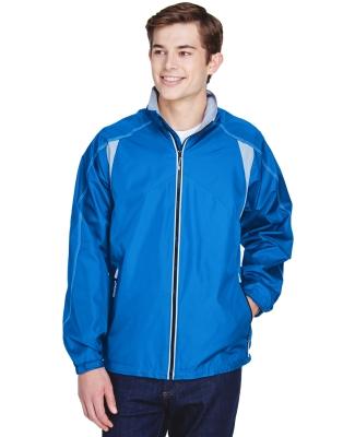 North End 88155 Men's EnduranceLightweight Colorblock Jacket NAUTICAL BLUE