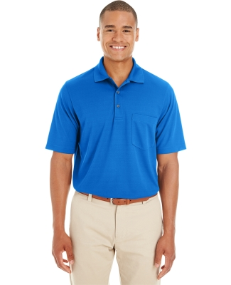 88181P Ash City - Core 365 Men's Origin Performance Piqué Polo with Pocket TRUE ROYAL 438