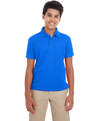 Ash City - Core 365 88181Y Youth Origin Performance Pique Polo TRUE ROYAL 438