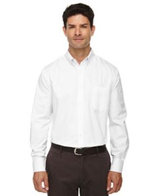 88193T Ash City - Core 365 Men's Tall Operate Long-Sleeve Twill Shirt WHITE 701
