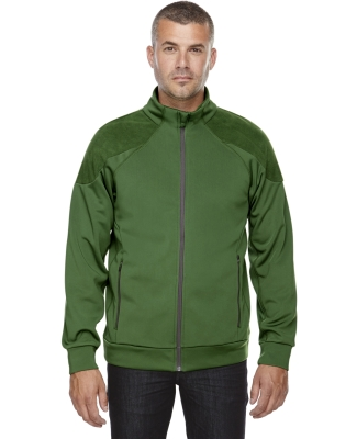 88660 Ash City - North End Sport Red Men's Evoke Bonded Fleece Jacket FERN