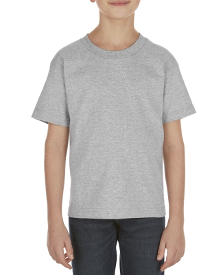 3381 ALSTYLE Youth Retail Short Sleeve Tee ATHLETIC HEATHER