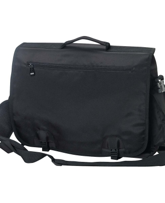 BE048 BAGedge Modern Tech Briefcase BLACK