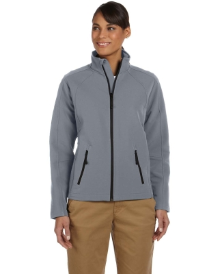 D945W Devon & Jones Ladies' Doubleweave Tech-Shell® Duplex Jacket GRAPHITE