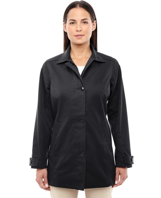 D982W Devon & Jones Ladies' Sullivan Harbor Trench BLACK