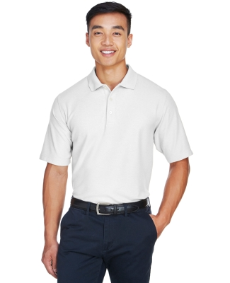 DG150 Devon & Jones Men's DRYTEC20 Performance Polo WHITE
