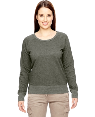 econscious EC4505 Ladies' 7 oz. Organic/Recycled Heathered Fleece Raglan Pullover