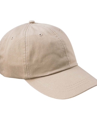 Adams LP104 Twill Optimum II Dad Hat STONE