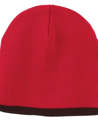 TNT Big Accessories Knit Cap RED/ BLACK
