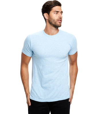 US2229 US Blanks Tri-Blend Jersey Tee TRI LIGHT BLUE