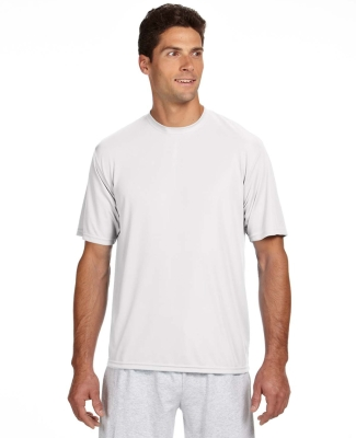 N3142 A4 Adult Cooling Performance Crew WHITE