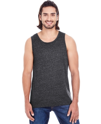 102C Threadfast Apparel Unisex Triblend Tank BLACK TRIBLEND