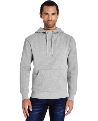 Threadfast Apparel 322H Unisex Precision Fleece Ho HEATHER GREY